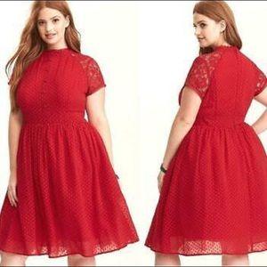 torrid Dresses - Torrid Plus Size Red Dress Size 30
